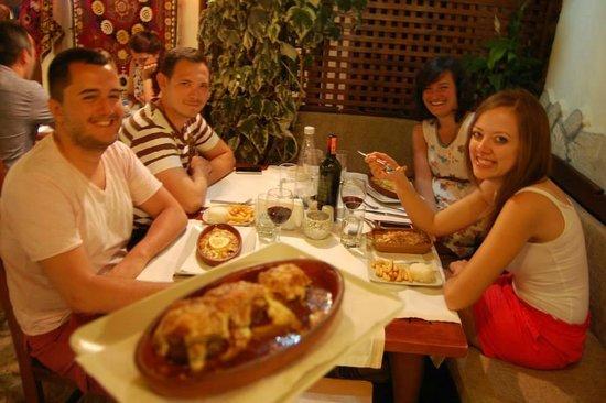 Sempati Turkish Cuisine : köfte güvec & meat balls casserole