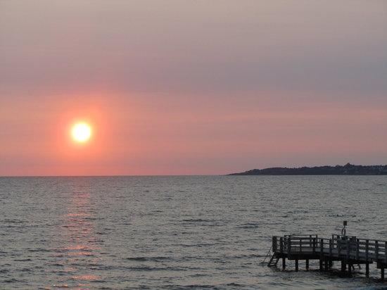 Klitterhus Havsbadshotell: Sunset
