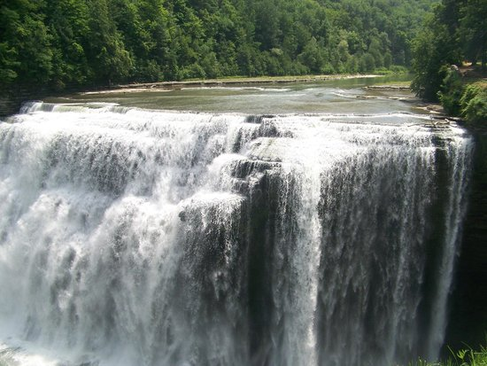 Little Lakes Inn & Healing Center: Middle falls at Letchworth State park approx. 30 min. from Little lakes Inn Awesome day trip