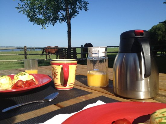 Rocking R Guest Ranch: Breakfast doesn't get better