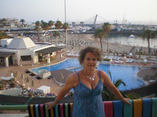 HOVIMA La Pinta : vista desde el balcón de la habitación