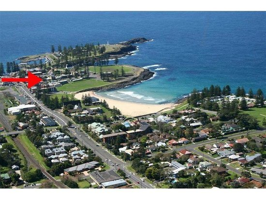 Kiama Cove Motel: Location