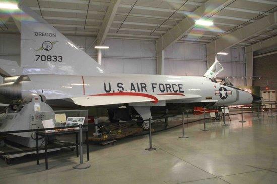 Hill Aerospace Museum: Convair  F-102 Delta Dagger