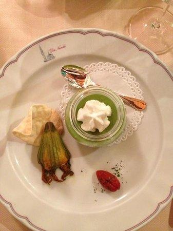 Trattoria Albergo Da Nando: la zucchina nella zucchina