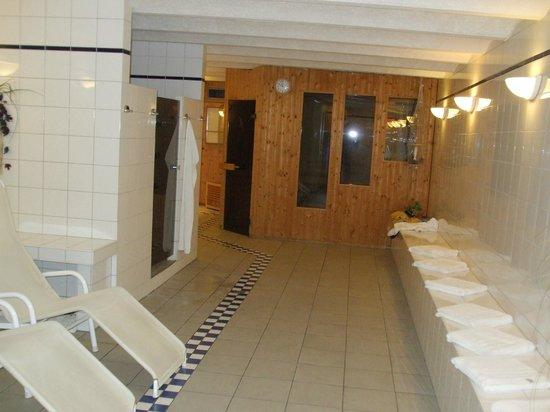 Hotel Halm Konstanz: Sauna and relaxing room