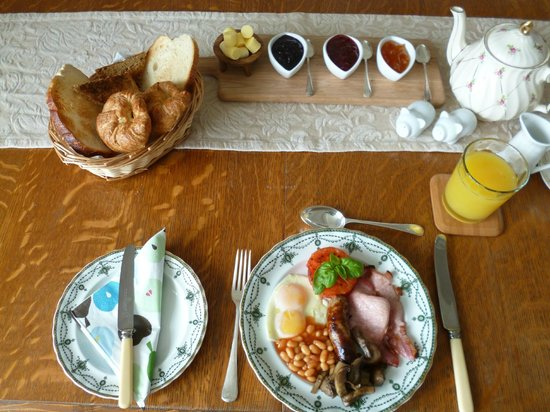 Hall Farm Bed & Breakfast : Breakfast