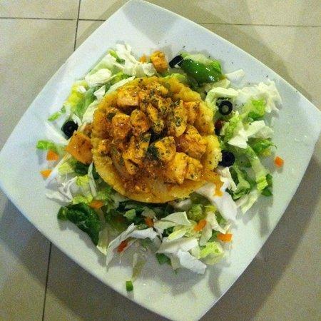 La Gran Parada: Chicken Mofongo
