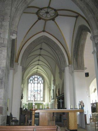 The Tithe Barn, St Marys Church: St Marys Abergavenny Altar