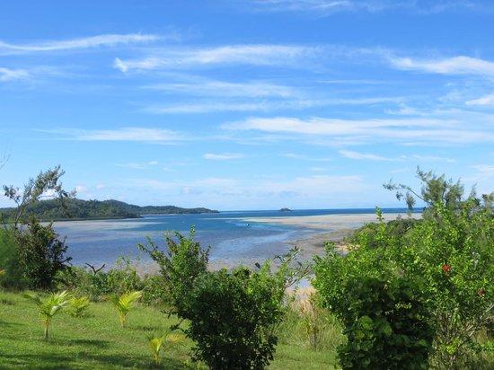 Matacawalevu Island, Fiji: view