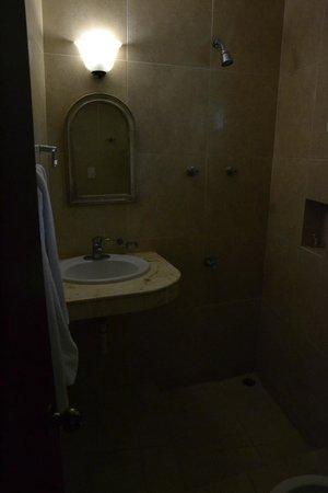 Cabanas Maria Del Mar: shower