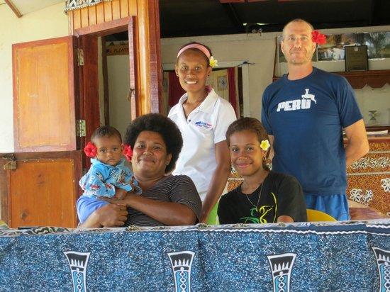 Matacawalevu Island, Fiji: family