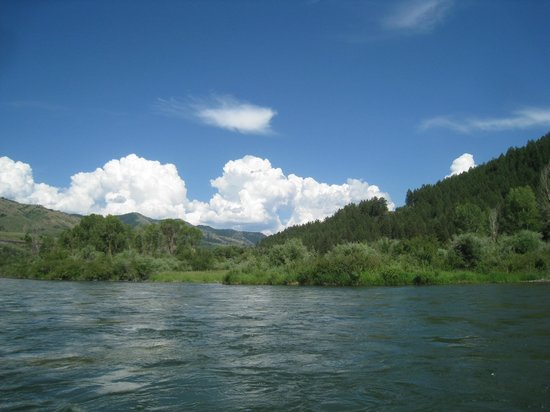 Three Rivers Ranch: South Fork of the Snake River
