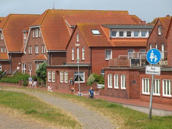 Das Haus von Deich aus Picture of Frohsinn Juist