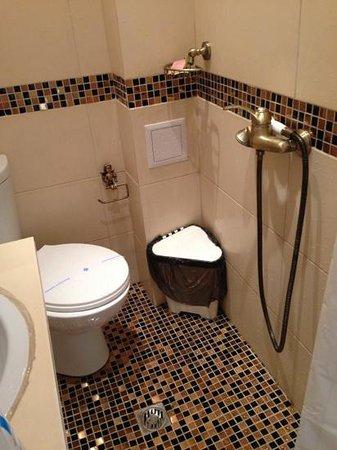 Bulgakov Hostel: bathroom