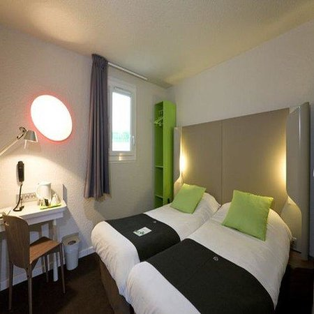 Campanile Valence Nord : Twin Room