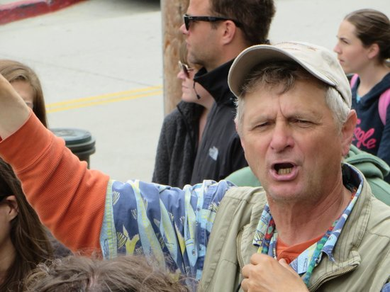 Monterey Waterfront & Cannery Row Tours: Tour Guide Tim Thomas