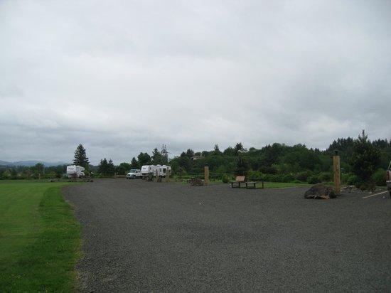 Lots of space - Lewis & Clark RV Park