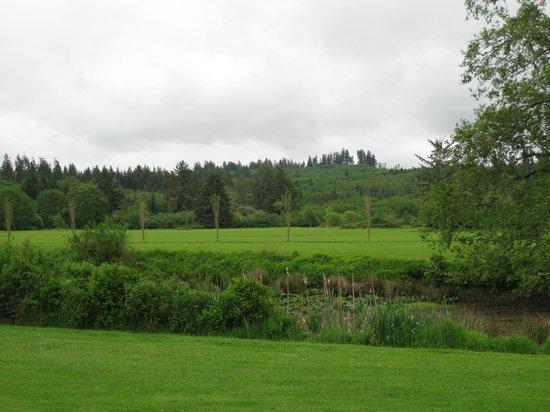 Golf course & creek views - Lewis & Clark RV Park
