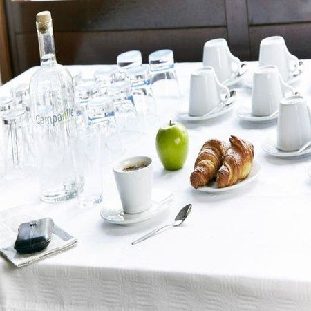كامبانيلي هوتل فلاردينجين: Restaurant