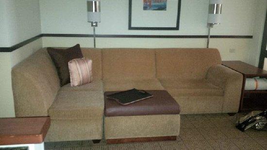 Hyatt Place Sacramento Roseville: sofa/sleeper!