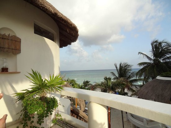 Playa Palms Beach Hotel: While laying in my personal hammock
