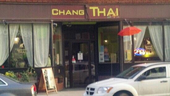 Chang Thai Cafe : Street view