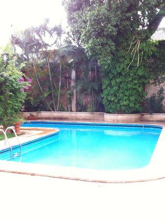 Hotel Casa del Balam : La alberca es muy agradable y limpia