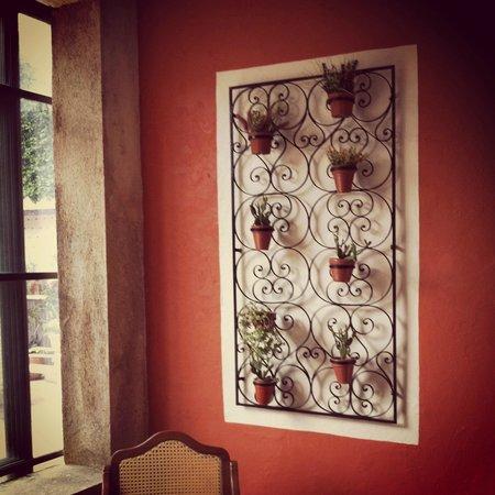 Hotel Casa del Balam : Hermoso detalle de Herrería