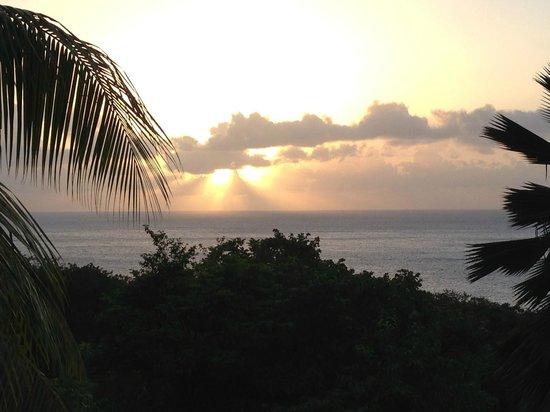 Residence Pointe Batterie: Vue de la terrasse