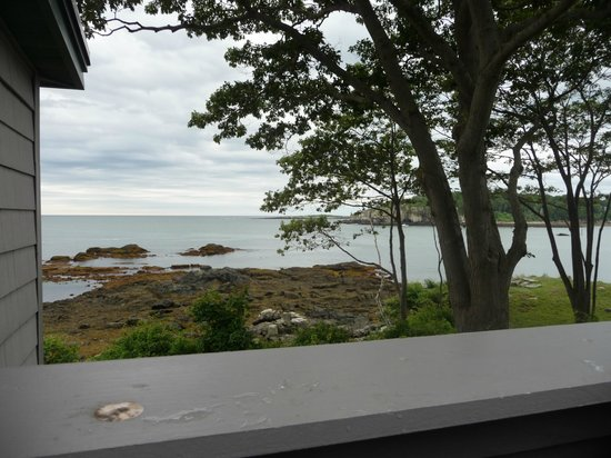 The 8th Maine: view from the outdoor shower....worth the price of admission...