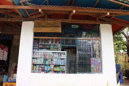 Busuanga Island Paradise: Local Store in Santo Nino (Owned by Metch)