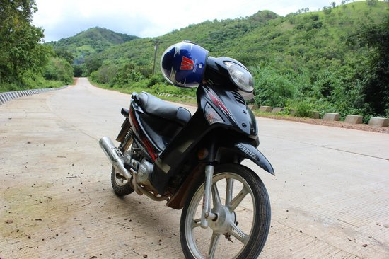 Busuanga Island Paradise: The bike i hired for a week