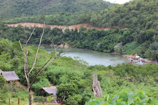 Busuanga Island Paradise: View over a river