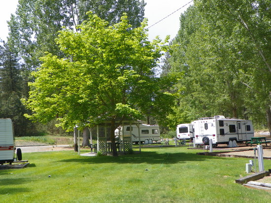 Grandview Inn Motel & RV Park: RV Park