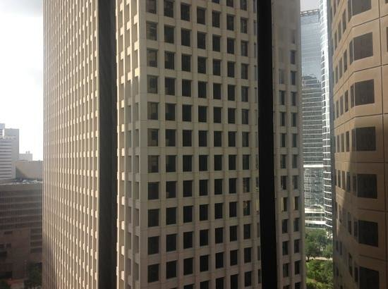 Doubletree Hotel Houston Downtown: view from the bed