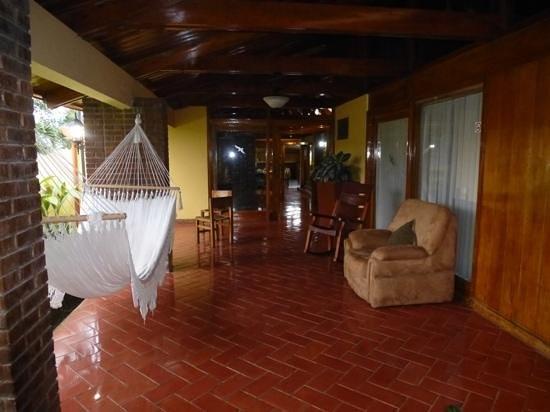 Hotel Villa Florencia : Deel van de villa waar enkele kamers zijn