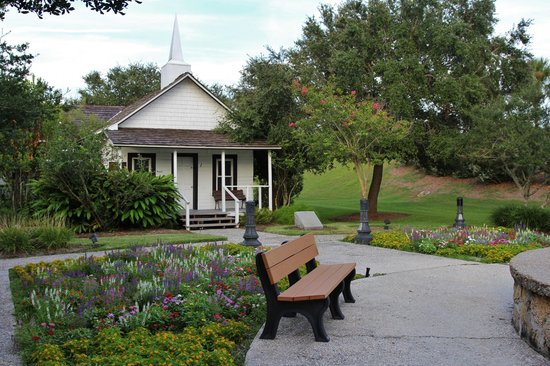 Bailey Riverbridge Gardens: Old Pilgrims Rest Primitive Baptist Church