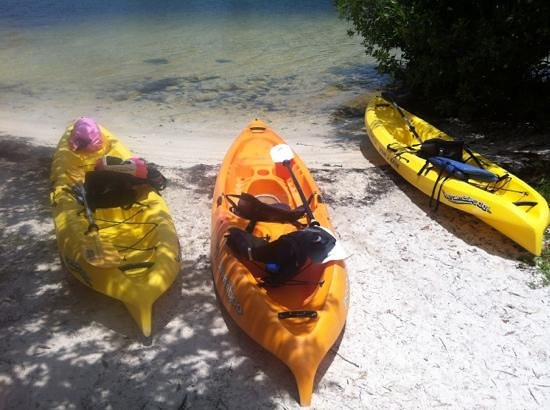 Curry Hammock State Park: going Kayaking