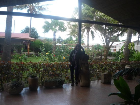 Hotel Manutara: jardines