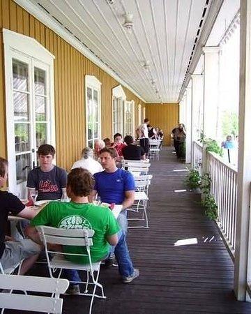 Insjöns Hotel : Terrace
