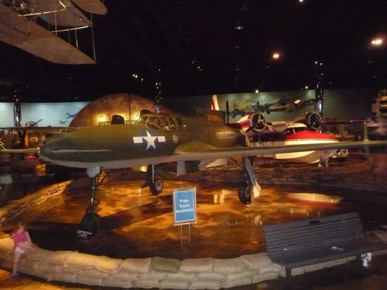 Air Zoo: Curtiss Ascender XP-55 (w/ Allison V-1710 pusher engine)