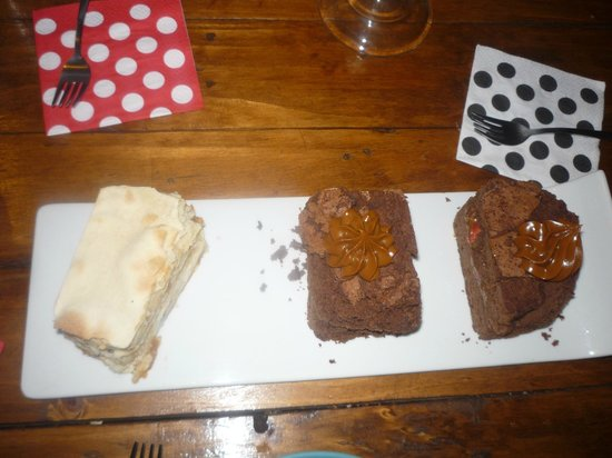 Caramelo: brownies