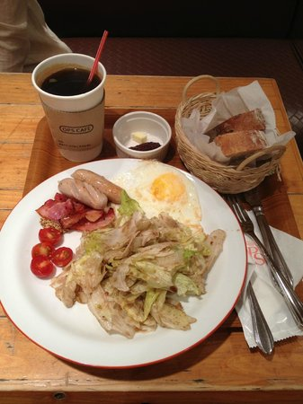 Ops Bakery Haeundae: OPS Breakfast Set