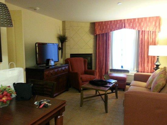 Homewood Suites Rockville - Gaithersburg: Living Room