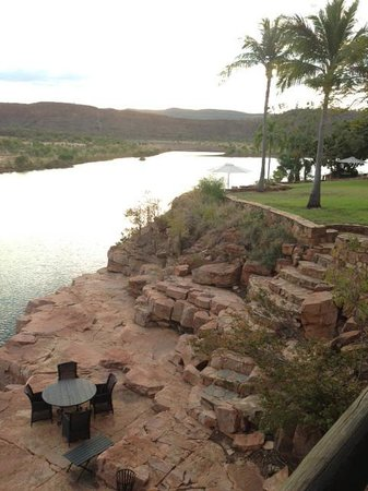 El Questro Homestead : One view from the Chamberlain Suite