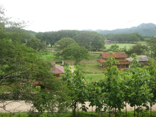 El Sabanero Eco Lodge: View from our front porch