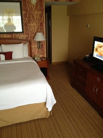 Courtyard Lyndhurst Meadowlands: nice room and friendly staff