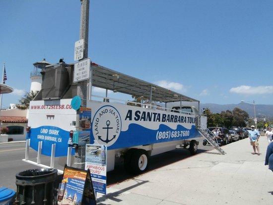 Santa Barbara Land Shark: Our bus to sea adventure