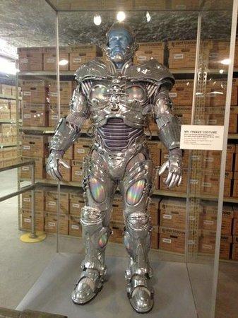 Strataca: Mr. Freeze costume worn by Schwarzenegger in Batman Forever.