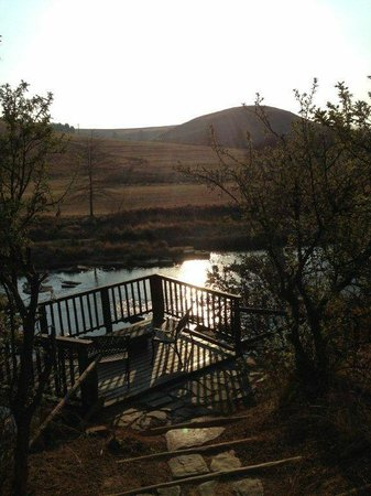 Umzimkulu River Lodge : Our favourite spot to read in the afternoon
